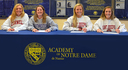 Four Notre Dame Student Athletes Sign with Division I Schools